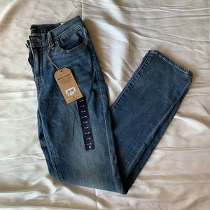NWT LUCKY BRAND   BROOKE STRAIGHT JEANS SIZE 6/28